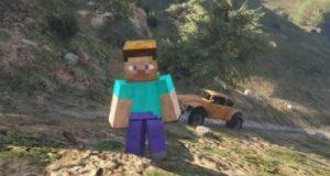 Minecraft GTA V
